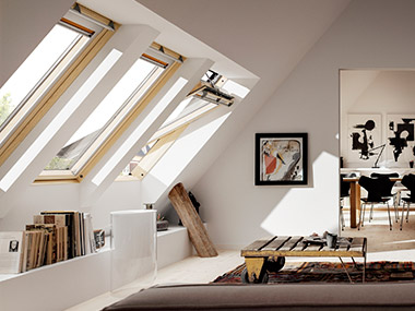 ggl i gpl drewniane okna nowej generacji velux gold. Black Bedroom Furniture Sets. Home Design Ideas